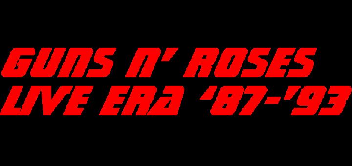 Guns N' Roses 'Live Era '87-'93'