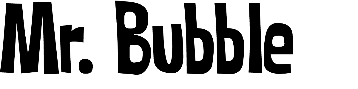 Mr. Bubble