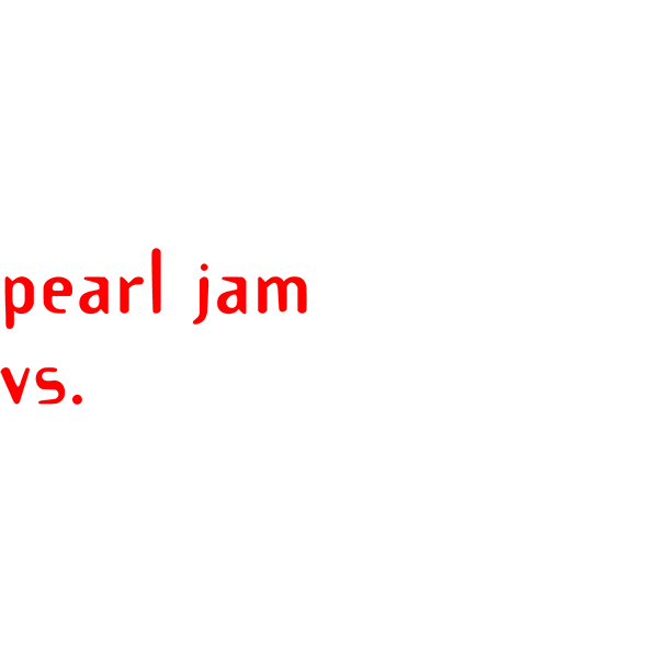 Pearl Jam 'Vs'