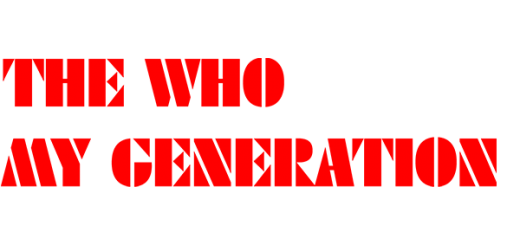 The Who 'My Generation'